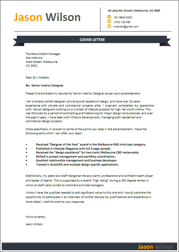 job cover letter - What Is A Cover Letter For Job