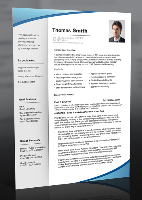 Profesional Resume resume template black freeman Resume Templates Download Professional Resume Template And Cv Templates Australian Employment Guide