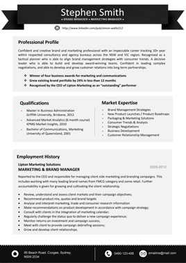 resume template 8